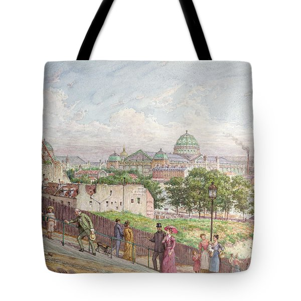 The Steps At The Rue Alboni Tote Bag by Arnaud Durbec