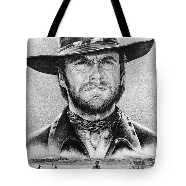 The Stranger bw 2 version Tote Bag by Andrew Read