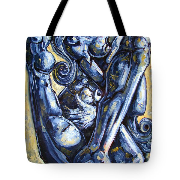 The Struggle Tote Bag by Darwin Leon