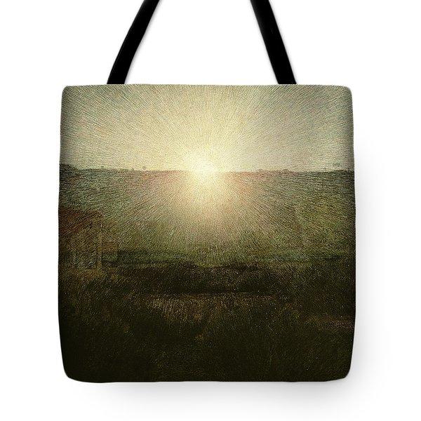 The Sun Tote Bag by Giuseppe Pellizza da Volpedo