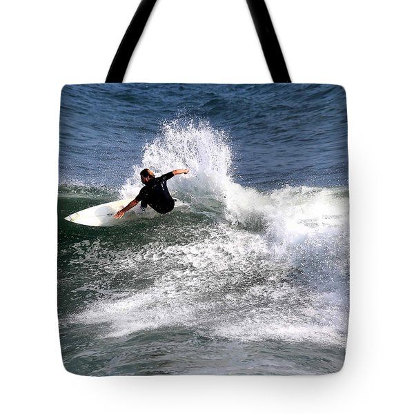 The Surfer Tote Bag by Tom Prendergast