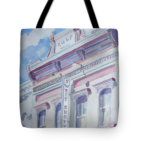 The Sweet Shoppe Tote Bag by Jenny Armitage