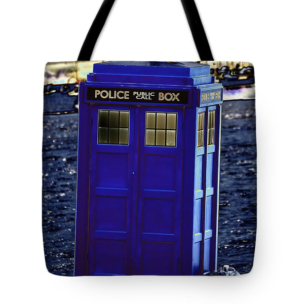 The Tardis Tote Bag by Steve Purnell