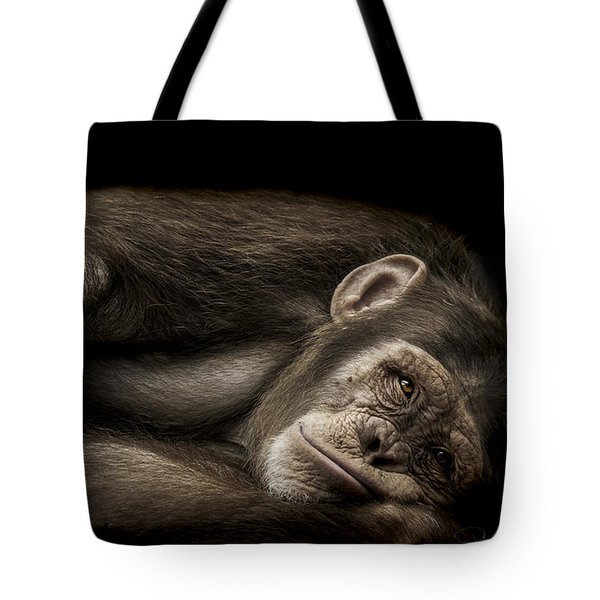 The Teenager Tote Bag by Paul Neville