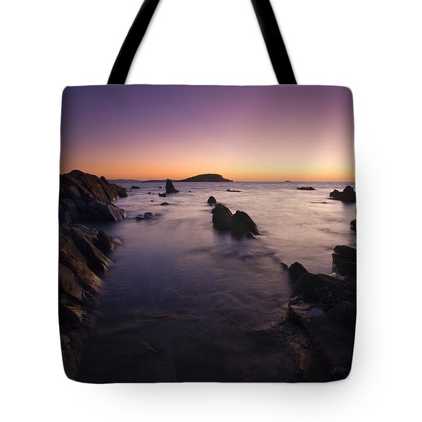 The Teeth Of Twilight Tote Bag by Mike  Dawson