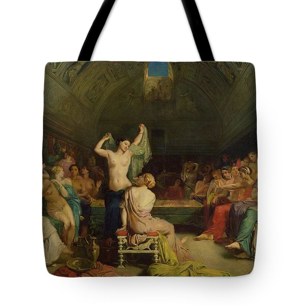 The Tepidarium Tote Bag by Theodore Chasseriau