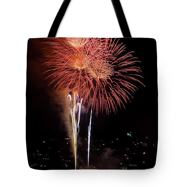 The Three Daisies Tote Bag by David Patterson
