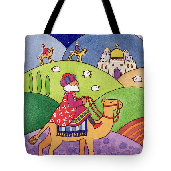 The Three Kings Tote Bag by Cathy Baxter
