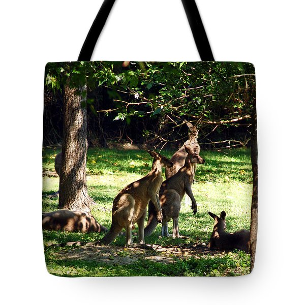 The Three Musketeers Tote Bag by Patricia Griffin Brett