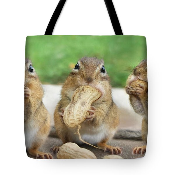 The Three Stooges Tote Bag by Lori Deiter