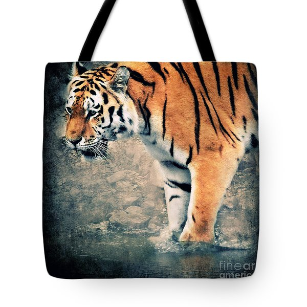The Tiger Tote Bag by Angela Doelling AD DESIGN Photo and PhotoArt