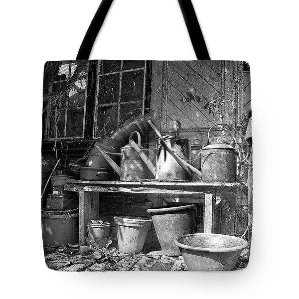 The Tool Shed Tote Bag by Brian Roscorla