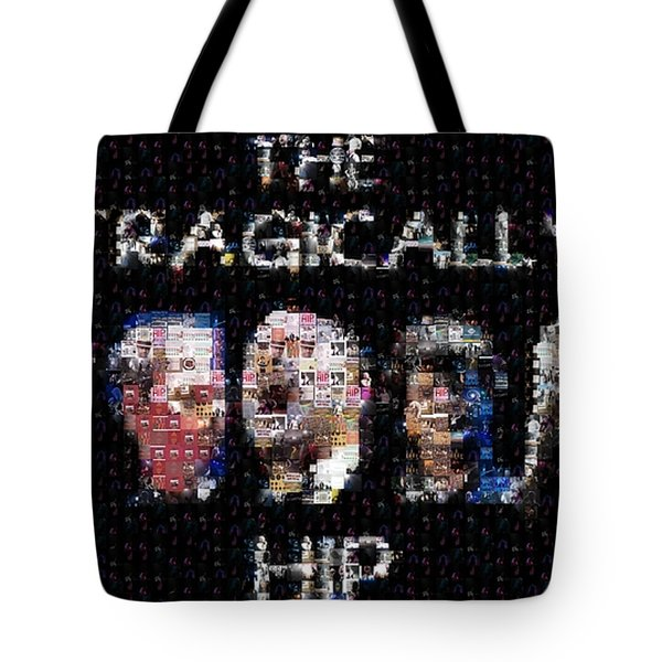 The Tragically Hip Mosaic Tote Bag by Paul Van Scott