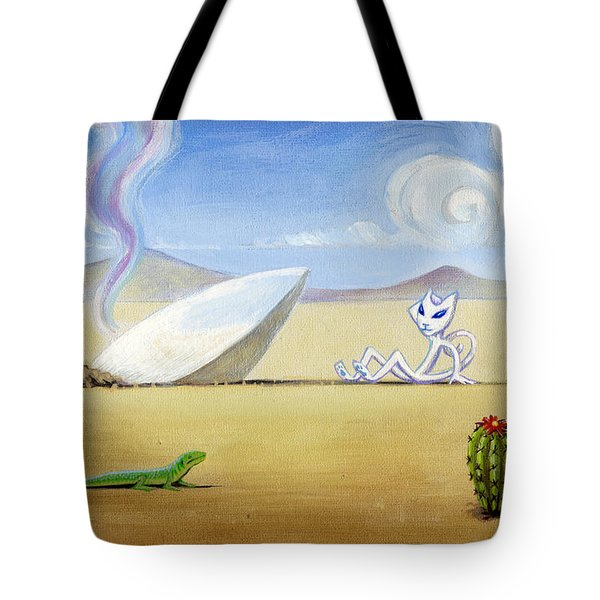 The Truth About Roswell Tote Bag by John Deecken