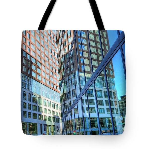The Urban Maze Tote Bag by JC Findley