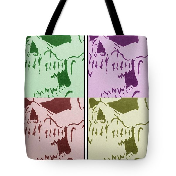 The Vampire Skeleton Tote Bag by Robert Margetts