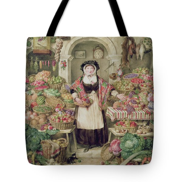 The Vegetable Stall  Tote Bag by Thomas Frank Heaphy