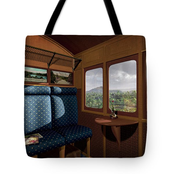 The View From Marion Station Tote Bag by Cynthia Decker