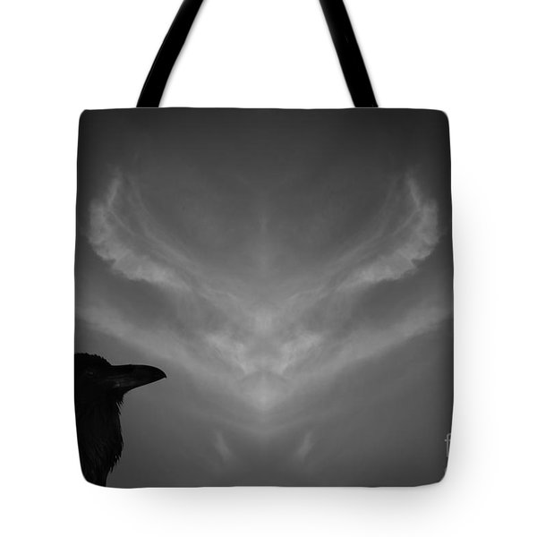 The Visitation Tote Bag by Dave Gordon