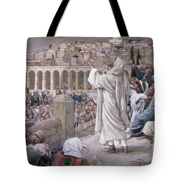 The Voice From Heaven Tote Bag by Tissot