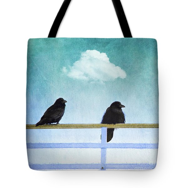 The Wait Tote Bag by Priska Wettstein