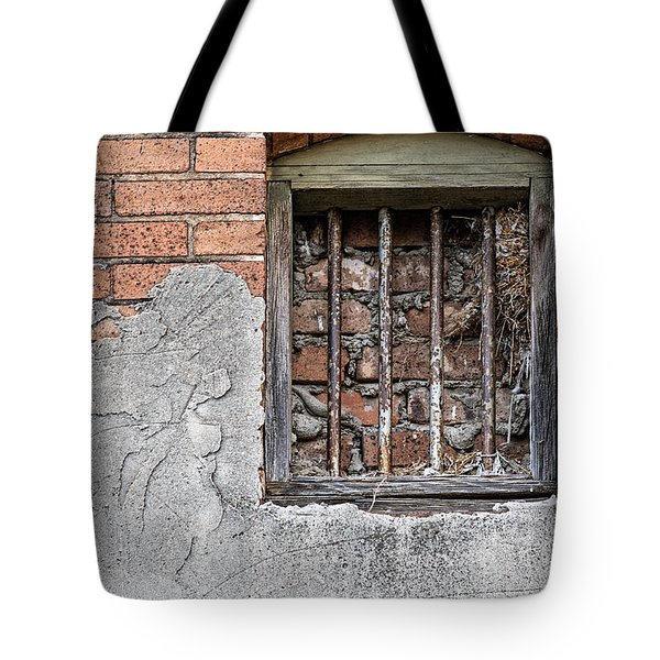 The Wall Within Tote Bag by Charles Dobbs