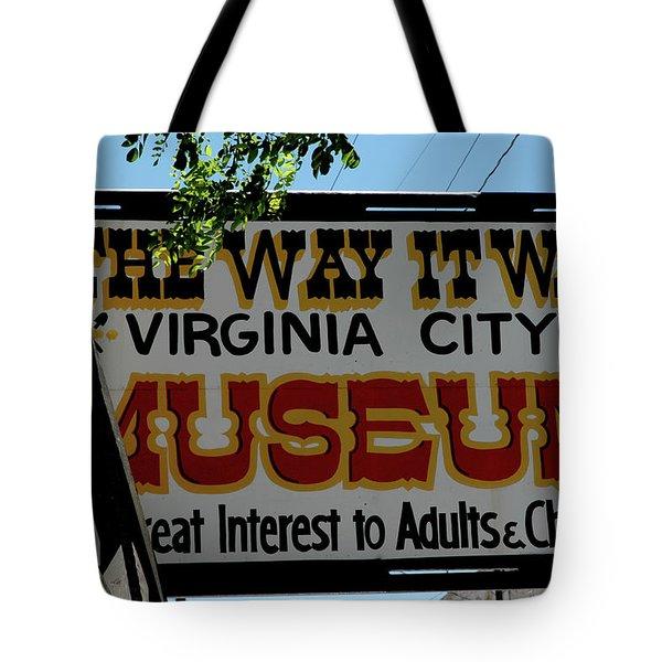 The Way it Was Tote Bag by LeeAnn McLaneGoetz McLaneGoetzStudioLLCcom