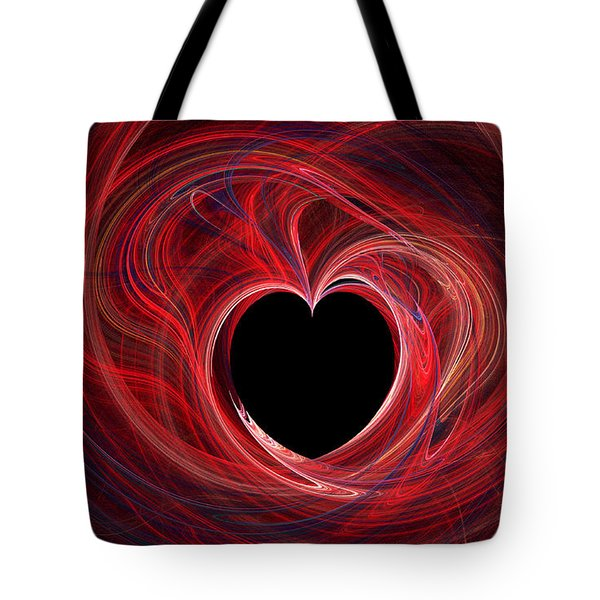 The Way To My Heart Tote Bag by Kaye Menner