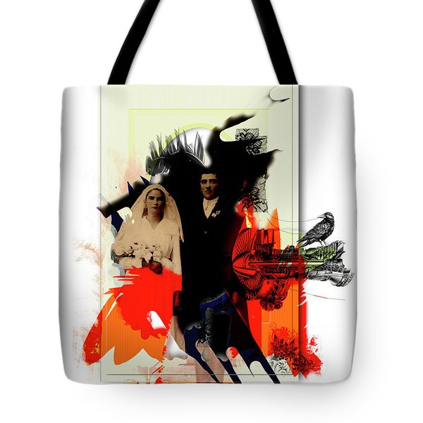 The Wedding Picture Tote Bag by Aniko Hencz