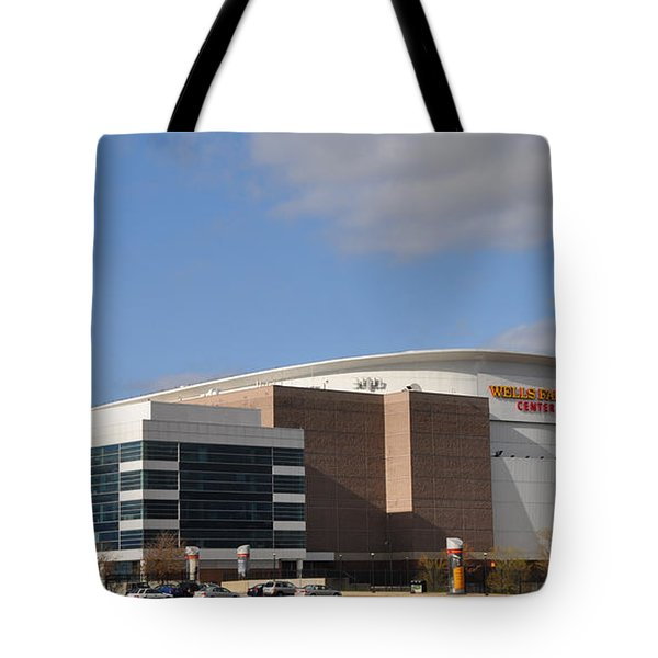 The Wells Fargo Center - Philadelphia  Tote Bag by Bill Cannon