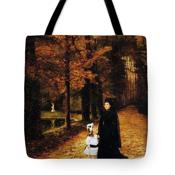 The Widow Tote Bag by Horace de Callias