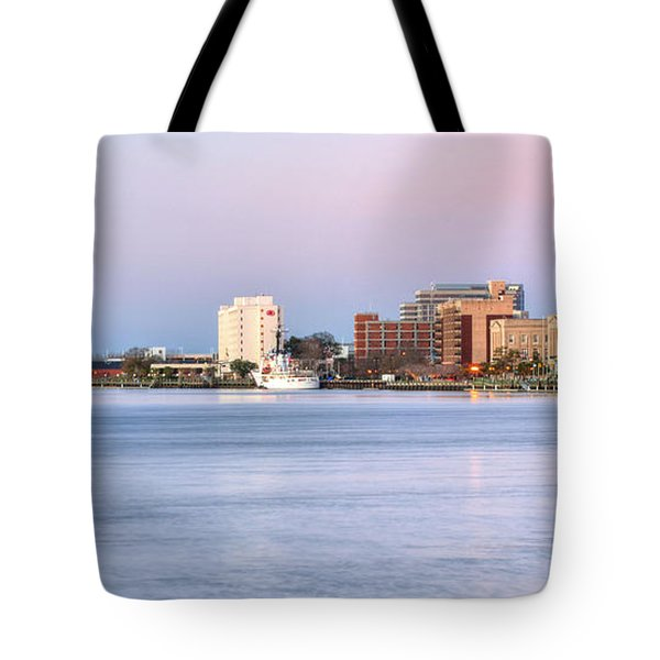 The Wilmington Skyline Tote Bag by JC Findley