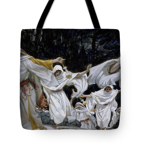 The Wise Virgins Tote Bag by Tissot