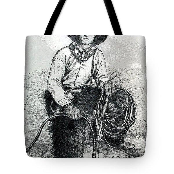 The Wrangler Tote Bag by Karon Melillo DeVega