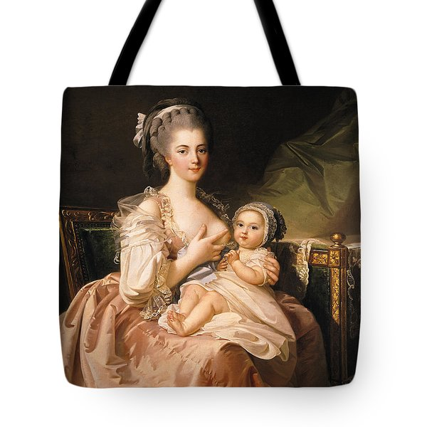 The Young Mother Tote Bag by Jean Laurent Mosnier