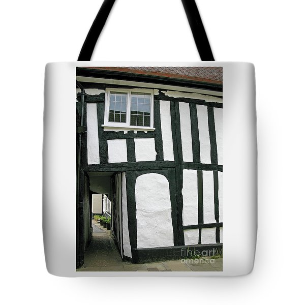 There Was A Crooked Man Tote Bag by Ann Horn