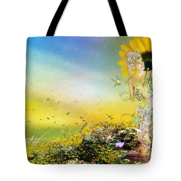 They Call Me Summer Tote Bag by Mary Hood