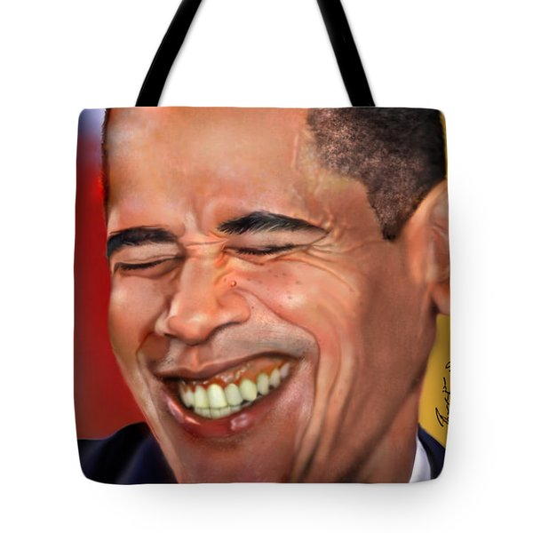 They Called Me Mr. President 1 Tote Bag by Reggie Duffie