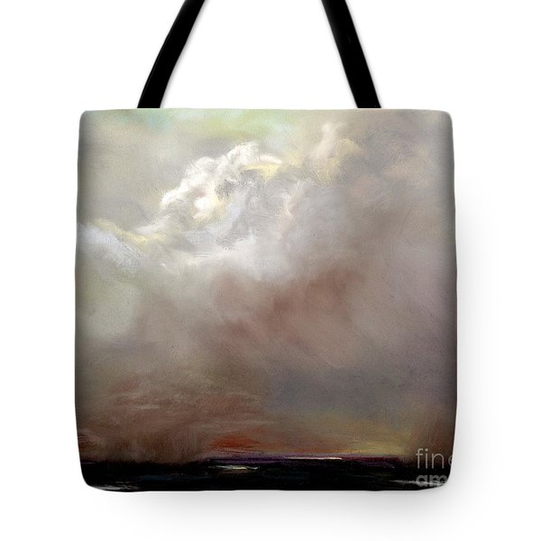 Things Are About To Change Tote Bag by Frances Marino