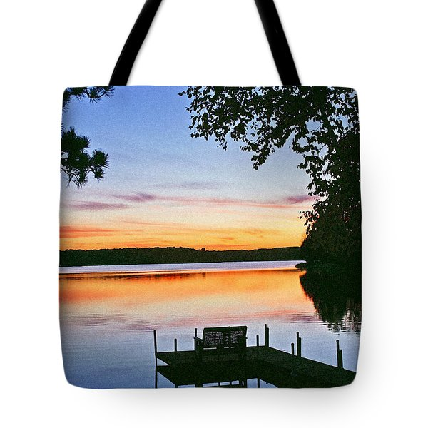 Thinking Of You Tote Bag by Bill Morgenstern