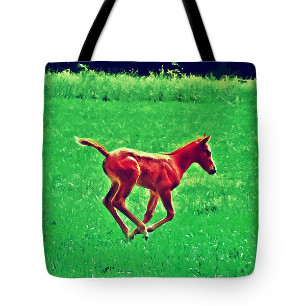Thorobred Tote Bag by Bill Cannon