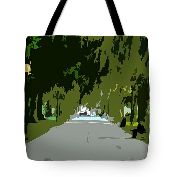 Thoroughfare Tote Bag by David Lee Thompson