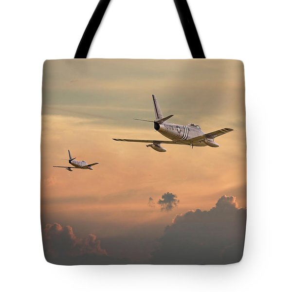 'those Were The Days......' Tote Bag by Pat Speirs