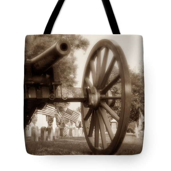 Those Who Served Tote Bag by Tom Mc Nemar
