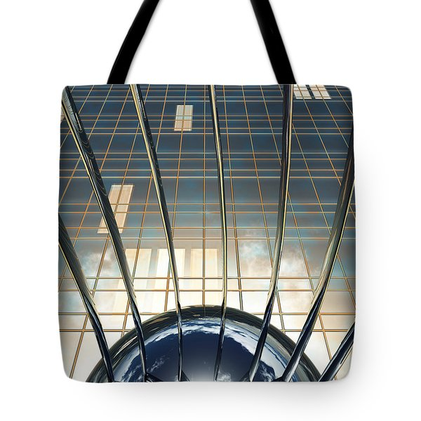 Thought Control Tote Bag by Richard Rizzo