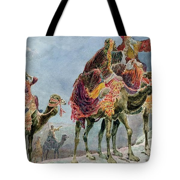Three Wise Men Tote Bag by Sydney Goodwin