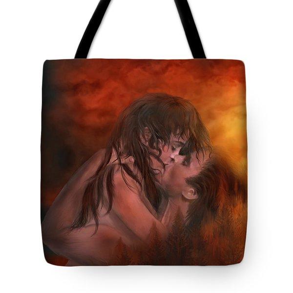 Through My Door Tote Bag by Carol Cavalaris