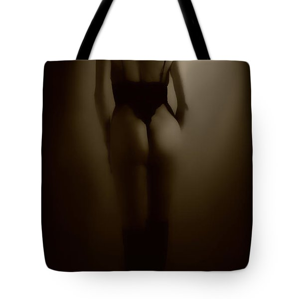 Through The Keyhole Tote Bag by Donna Blackhall