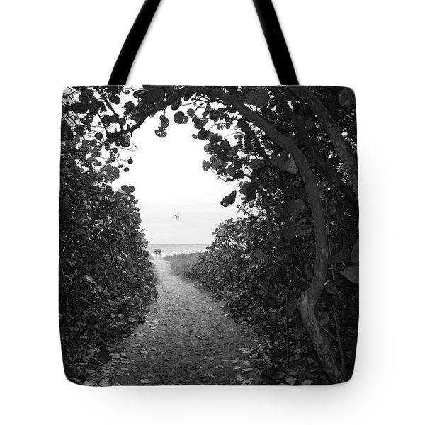 Through The Looking Glass Tote Bag by Rob Hans