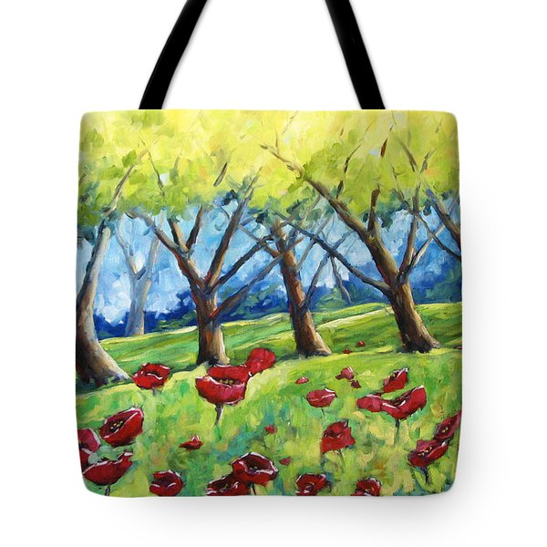 Through The Meadows Tote Bag by Richard T Pranke
